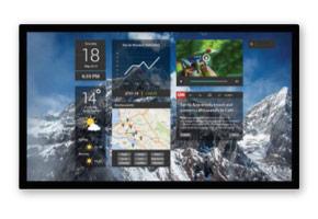 Optika Interactive display